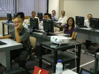 Presentation at singapore airlines training centre - Singapore airlines office ...