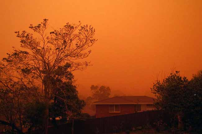 Dust Storm NSW September 23rd 2009