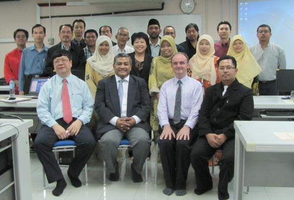 John Larkin and the AKEPT Workshop Participants Malaysia
