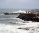 Big seas hammer the coastline