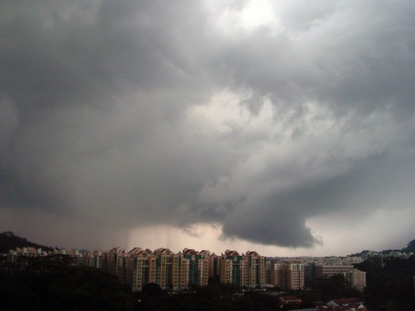 Storm over Hillview, Singapore