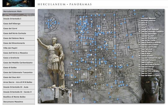 Herculaneum Panoramas