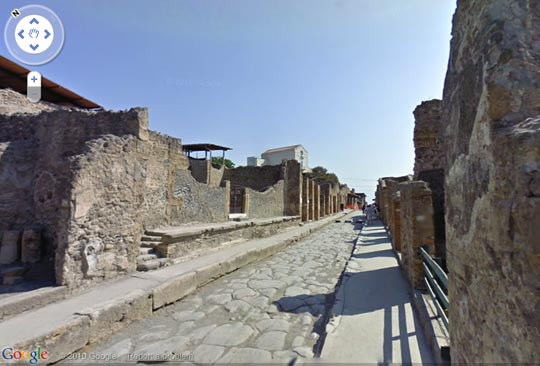 Google Pompeii