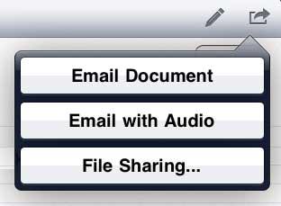 SoundNote iPad App