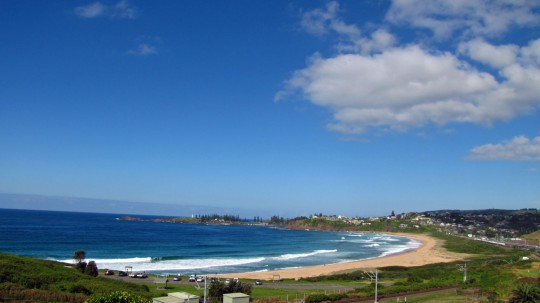 Bombo Beach and Kiama