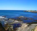 Rock platform near North Wollongong Beach NSW