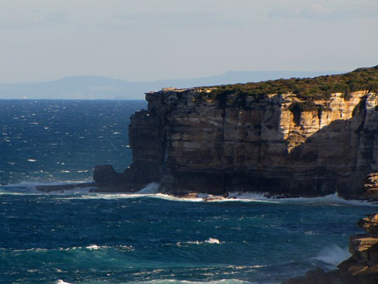 Rugged coastline of the Royal National Park NSW