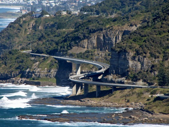 Sea Cliff Bridge Illawarra NSW