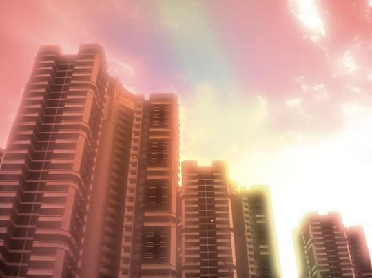 Singapore cirrus ~ resplendent Flare preset