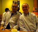 John Larkin and Anand at the MacLarkin Meetup Singapore October 2011
