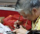Engraving craftsmen Chinatown Singapore