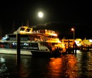Boat berthed in Cairns Queensland
