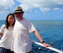 John and Shao Ping at Agincourt Reef Great Barrier Reef Queensland