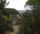 Darcy Moore at Warris Chair Lookout in Budderoo National Park