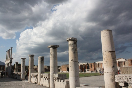 Photograph taken at Pompeii by Shamefullyso http://www.flickr.com/photos/theclaron/3344067156/