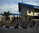 The arrival hall at Pengerang, Johor, Malaysia