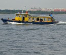 Bum boat returning to Changi Jetty
