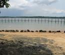 Looking towards Johor, Malaysia ~ Straits of Johor