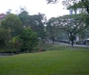 Morning walk through the NTU campus