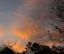 Autumn sunset April 28th 2012