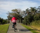 Riding through east Corrimal