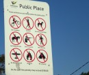 Australia has Singapore-like signs as well ~ so does that mean copulating is allowed?