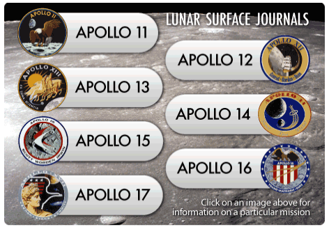 Apollo Lunar Surface Journal Web SIte