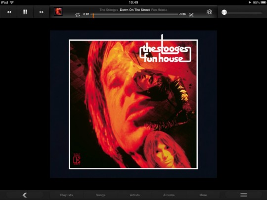 Funhouse album cover The Stooges