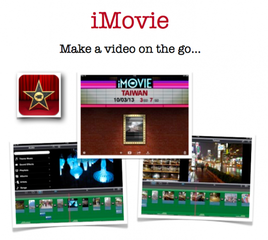 iMovie Guide for the iPad