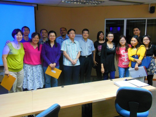 iPad in Education Workshop Nanyang Technological University Singapore
