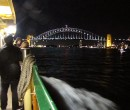 Approaching Sydney Harbour Bridge