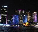 Sydney buildings illuminated