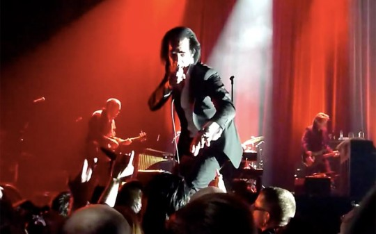 Nick Cave and The bad Seeds live in Quebec Canada 2013
