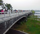 Bridge near the Xuanwu Lake in Nanjing