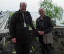 Brian Lockwood and myself in Nanjing
