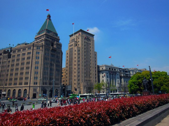 The Bund, Shanghai, China.