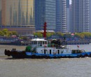 On the HuangPu River, Shanghai, China