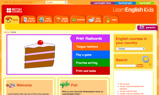 British Council Learn English Kids