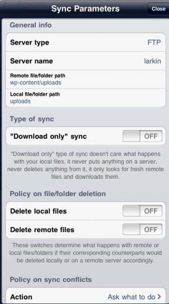 syncsettings